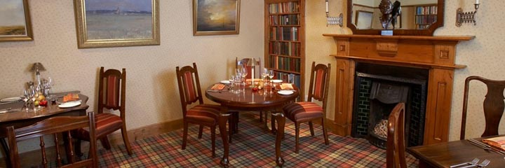 The Dining Room at 2 Quail bed and breakfast in Dornoch