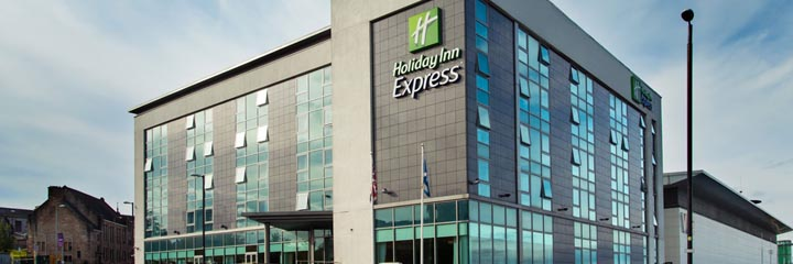 Exterior view of the Holiday Inn Express Hamilton