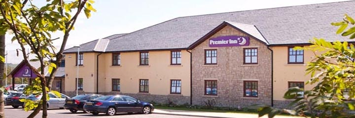 An external view of the Premier Inn Edinburgh A7/Dalkeith hotel