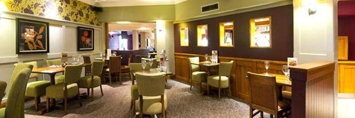 The Thyme restaurant at the Premier Inn Glasgow Airport hotel