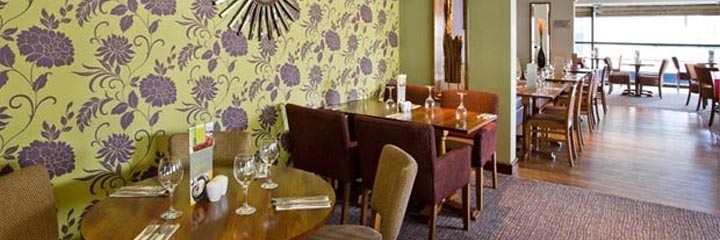 The Thyme restaurant at the Premier Inn Glasgow City Centre Buchanan Galleries hotel