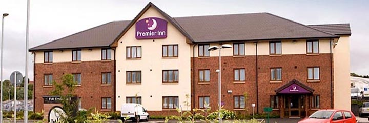 An exterior view of the Premier Inn East Kilbride Nerston Toll hotel