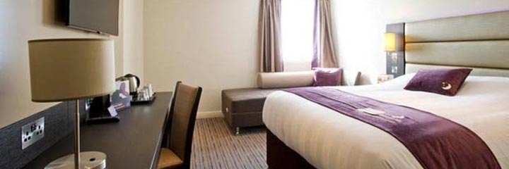 A family bedroom at the Premier Inn Perth City Centre hotel