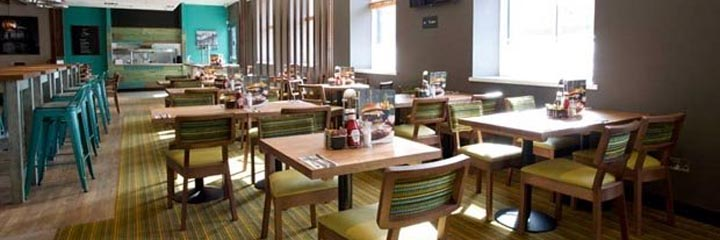 The Thyme restaurant at the Premier Inn Perth City Centre hotel