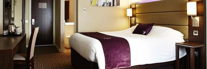 A Premier Inn double bedroom