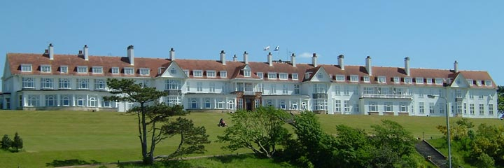 The exterior of the 5* Trump Turnberry Hotel