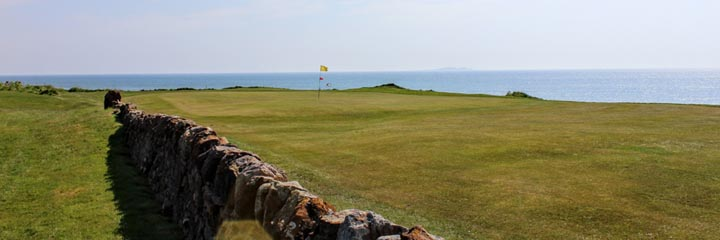 A view of Anstruther golf course