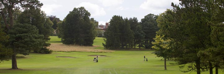 A view of Bruntsfield Links golf course