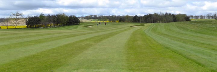 The golf course at Cluny Activities
