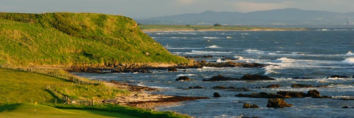 The 5th hole of Crail Balcomie Links