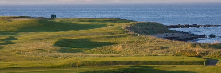 A view of Crail Balcomie Links