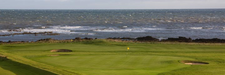 The 7th hole of Crail Balcomie Links