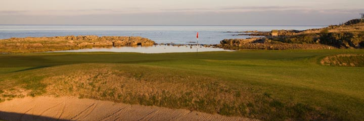 The 15th hole of Crail Balcomie Links