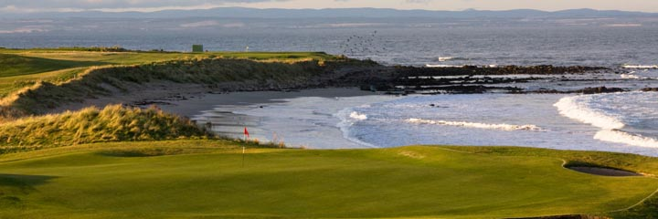 The 14th hole of Crail Balcomie Links