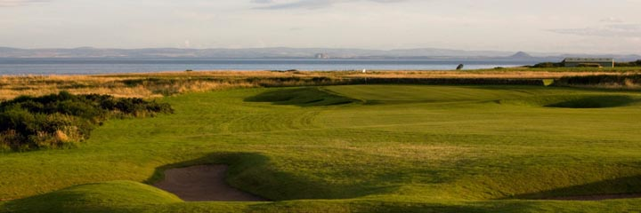 A view of the Craighead Links at Crail Golfing Society