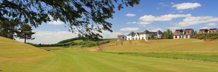 A view of Drumoig golf course, a challenging inland course just north of St Andrews