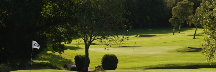 A view of Dunning Golf Club
