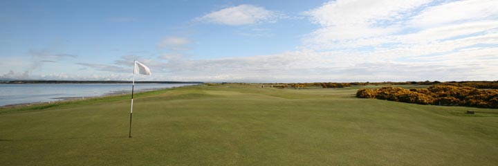 A view of the Eden golf course at St Andrews