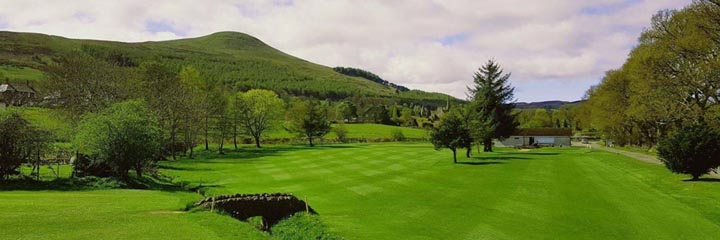 Falkland Golf Club view