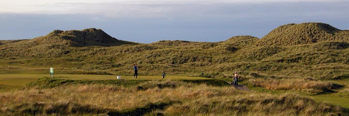 The 10th hole of the Corbiehill course at Fraserburgh Golf Club