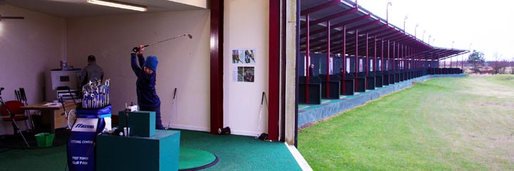 The course at Gailes Golf Leisure centre