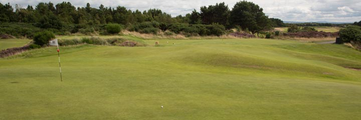 A view of the Gailes Links course