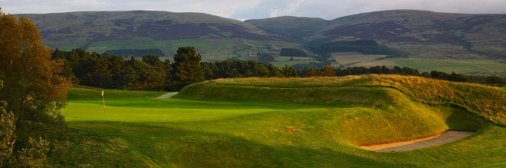 A view of the Gleneagles King's course