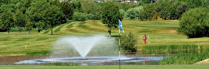 Glenisla course, Alyth Golf Club