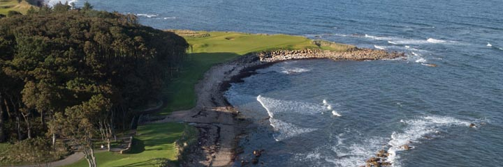 The 15th hole at Kingsbarns Golf Links