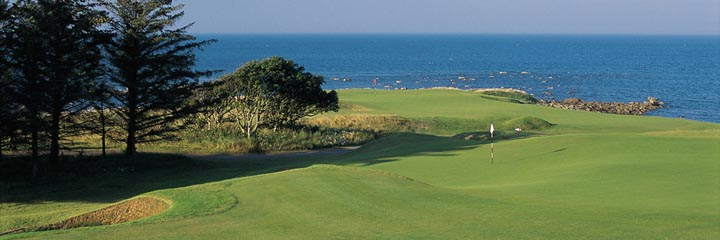 The 8th hole at Kingsbarns Golf Links