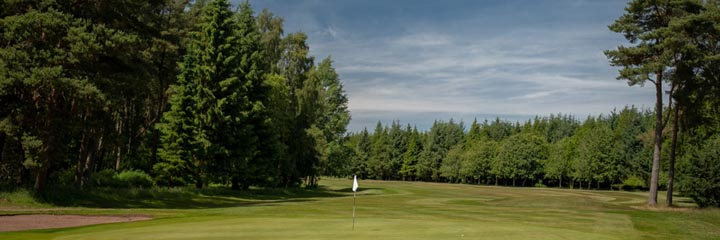 The Montgomery course in Kinross