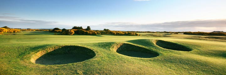 A view of the St Andrews New course