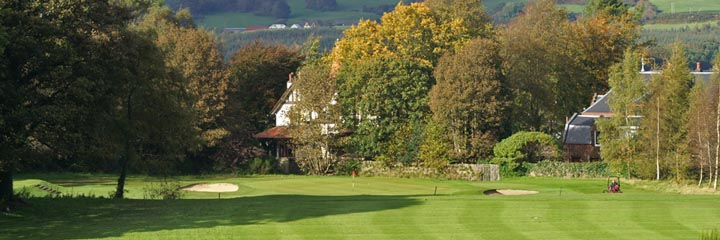 The course of the Old Course Ranfurly Golf Club