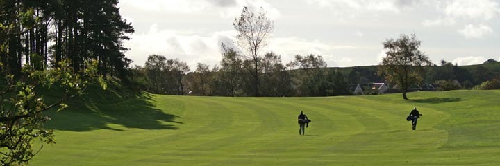A view of the the Old Course Ranfurly Golf Club
