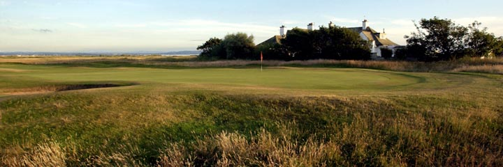 The 16th hole of the Old course at Royal Troon Golf Club