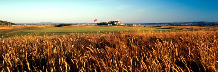 The 17th hole of the Old course at Royal Troon Golf Club